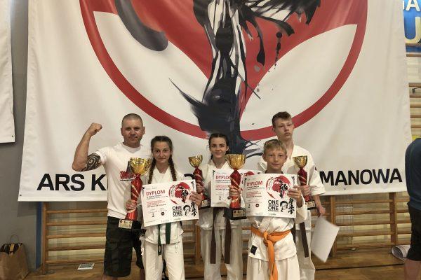 Turniej karate wLimanowej