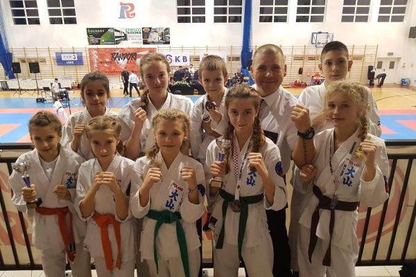 "Ogólnopolski Turniej Karate Shinkyokushin wkumite ""RANDORI CUP"""