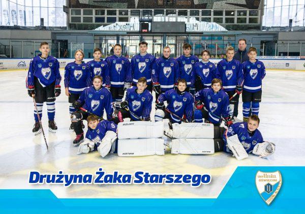 drużyna hokejowa żaka starszego